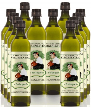 Aceite de Oliva Virgen Extra 12x1L. Variedad Pico Limón