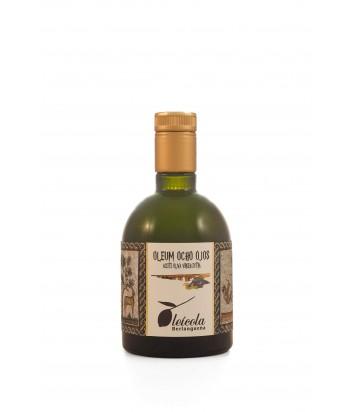 Aceite de Oliva Virgen Extra 10x250ml. Oleum Ocho Ojos Arbequino y Koroneiki Blend