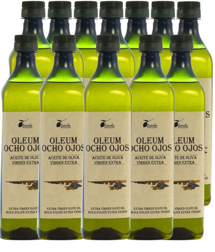 Aceite de Oliva Virgen Extra 12x1L. Variedad Arbequino