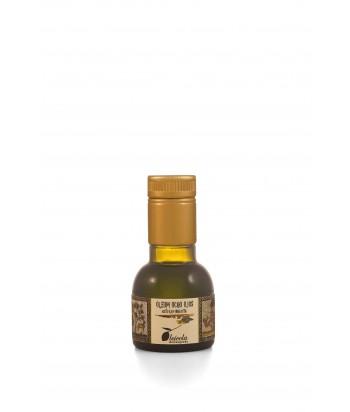 Aceite de Oliva Virgen Extra 20x100ml. Oleum Ocho Ojos Pico Limón Monovarietal